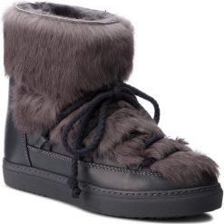 Buty INUIKII - Sneaker Rabbit 70203-9-W Grey. Szare buty zimowe damskie Inuikii, z futra. Za 1509,00 zł.