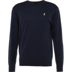 Polo Ralph Lauren Golf CREWNECK Sweter french navy. Niebieskie golfy męskie marki Polo Ralph Lauren Golf, l, z bawełny. W wyprzedaży za 439,20 zł.
