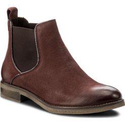 Sztyblety LASOCKI - WI23-DALIA-02 Bordowy. Czerwone buty zimowe damskie Lasocki, z materiału, na obcasie. Za 179,99 zł.
