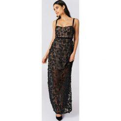 Sukienki: For Love & Lemons Sukienka maxi na ramiączkach Beatrice - Black