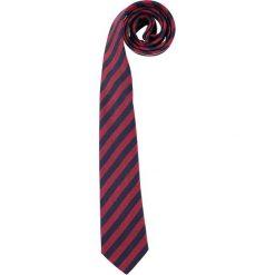 Krawaty męskie: Krawat w kolorze bordowym – 150 x 7,5 cm