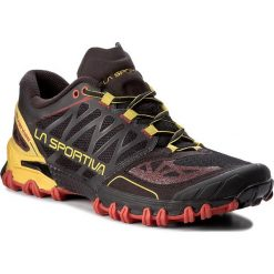 Buty LA SPORTIVA - Bushido 26K999100 Black/Yellow. Czarne buty do biegania męskie La Sportiva, z materiału. W wyprzedaży za 539,00 zł.