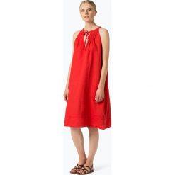 Sukienki hiszpanki: Marc O'Polo – Lniana sukienka damska, czerwony