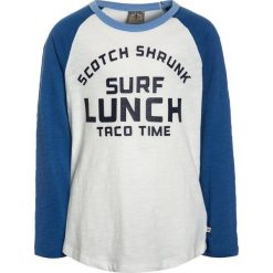 Scotch Shrunk LONG SLEEVE COLOURBLOCK RAGLAN WITH ARTWORKS Bluzka z długim rękawem blue. Niebieskie bluzki dziewczęce bawełniane marki Scotch Shrunk. Za 169,00 zł.