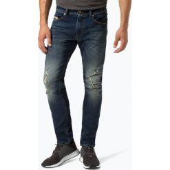 Diesel - Jeansy męskie – Thommer, niebieski. Niebieskie jeansy męskie z dziurami marki Diesel. Za 549,95 zł.