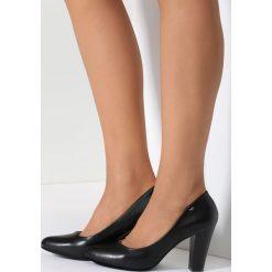 Buty ślubne damskie: Czarne Czółenka Memory Lane