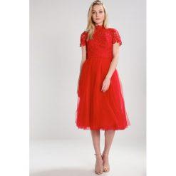 Sukienki hiszpanki: Chi Chi London Tall JOY Sukienka koktajlowa red