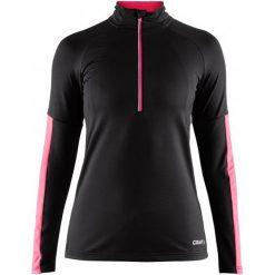 Craft Bluza Sportowa Damska Prep Black M. Czarne bluzy sportowe damskie marki DOMYOS, z elastanu. Za 195,00 zł.