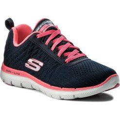 Buty SKECHERS - Break Free 12757/NVHP Navy/Hot Pink. Niebieskie buty do fitnessu damskie marki Skechers. W wyprzedaży za 209,00 zł.