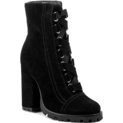 Botki SCHUTZ - S 20330 0014 0005 U Black. Czarne buty zimowe damskie Schutz, ze skóry ekologicznej, na obcasie. W wyprzedaży za 499,00 zł.