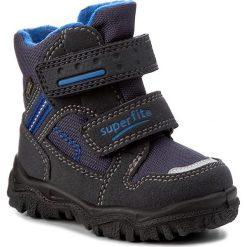 Buty zimowe chłopięce: Śniegowce SUPERFIT – GORE-TEX 1-00044-81 Ocean Kombi