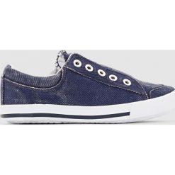 Tenisówki płócienne roz. 26-40. Niebieskie buty sportowe chłopięce La Redoute Collections, sportowe. Za 55,82 zł.
