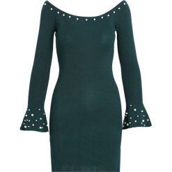 Ciemnozielona Sukienka Ball Gowns. Zielone sukienki dzianinowe Born2be, na jesień, l. Za 74,99 zł.