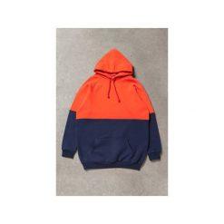 Bluza Double. Czerwone bluzy rozpinane damskie Freakstreet, z bawełny, z kapturem. Za 220,15 zł.