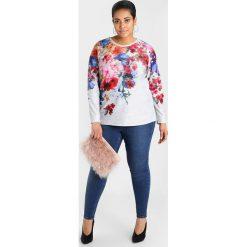 New Look Curves DARK WASH Jeans Skinny Fit dark blue. Niebieskie jeansy damskie New Look Curves. W wyprzedaży za 134,10 zł.