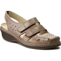 Rzymianki damskie: Sandały COMFORTABEL – 720095 Braun 2