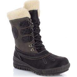 """Buty zimowe damskie: Kozaki """"Chloe"""" w kolorze czarnym"""