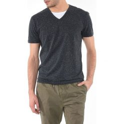 T-shirty męskie: T-shirt z dekortem w serek CIAO
