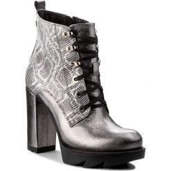 Buty zimowe damskie: Botki KAZAR - Kolet 31672-16-12 Srebrny