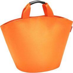 Shopper bag damskie: Shopper bag w kolorze pomarańczowym – 60 x 42 x 13 cm