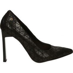 Czółenka - 5331 856 NERO. Czarne buty ślubne damskie Venezia, ze skóry. Za 229,00 zł.