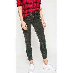 Only - Jeansy. Szare jeansy damskie rurki ONLY, z obniżonym stanem. W wyprzedaży za 129,90 zł.