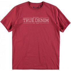 Mustang T-Shirt Męski, M, Czerwony. Czarne t-shirty męskie marki Mustang, l, z bawełny, z kapturem. Za 78,00 zł.