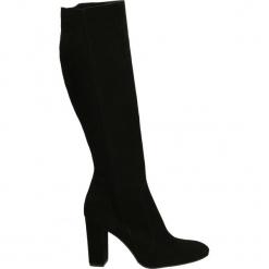 Kozaki - 1530 CAM NERO. Czarne buty zimowe damskie Venezia, ze skóry. Za 319,00 zł.