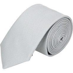 Krawaty męskie: krawat platinum szary classic 212
