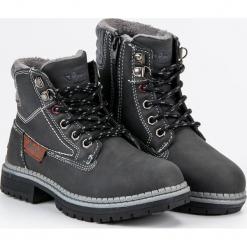 CHŁOPIĘCE TRAPERKI AMERICAN. Czarne buty zimowe chłopięce American CLUB. Za 139,00 zł.