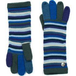 Rękawiczki damskie: Art of Polo Rękawiczki damskie Kolorowe Pasy niebieskie (rk13435)