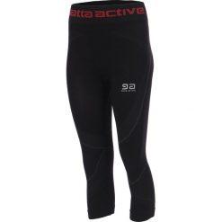 Damskie legginsy sportowe Gatta Active. Czarne legginsy sportowe damskie marki Astratex, z mikrofibry, z dekoltem na plecach. Za 67,99 zł.
