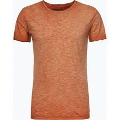 Drykorn - T-shirt męski – Kendrick, pomarańczowy. Niebieskie t-shirty męskie marki DRYKORN, m, z dekoltem karo. Za 229,95 zł.