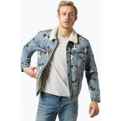 Levi's - Męska kurtka jeansowa – Disney, niebieski. Niebieskie kurtki męskie Levi's®, m, z motywem z bajki, z jeansu, klasyczne. Za 499,95 zł.