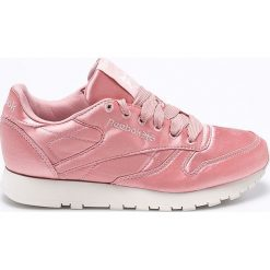 Reebok Classic - Buty Cl Lthr Satin Chalk. Różowe buty sportowe damskie reebok classic Reebok Classic, z gumy. W wyprzedaży za 179,90 zł.
