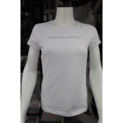 T-shirt Adidas Graphic Tee D84053. Niebieskie t-shirty damskie marki Adidas, s, z bawełny. W wyprzedaży za 69,99 zł.