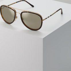 Burberry Okulary przeciwsłoneczne gold. Czarne okulary przeciwsłoneczne damskie lenonki marki Burberry. Za 809,00 zł.