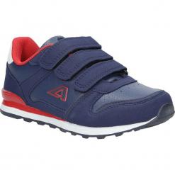 Granatowe buty sportowe na rzepy American 13. Szare buciki niemowlęce American, na rzepy. Za 69,99 zł.