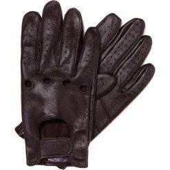 Rękawiczki męskie 46-6-381-B. Brązowe rękawiczki męskie marki Wittchen. Za 99,00 zł.
