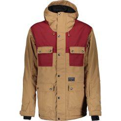 Kurtka narciarska w kolorze jasnobrązowo-bordowym. Brązowe kurtki męskie marki Billabong, m. W wyprzedaży za 428,95 zł.
