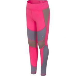 Buty sportowe dziewczęce: Legginsy treningowe dla małych dziewczynek JLEG303 – róż fluo