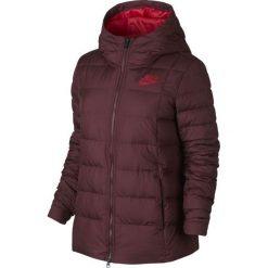 Nike Kurtka damska Sportswear Jacket W bordowa r. M (854862-619). Czarne kurtki sportowe damskie marki Nike, xs, z bawełny. Za 399,37 zł.