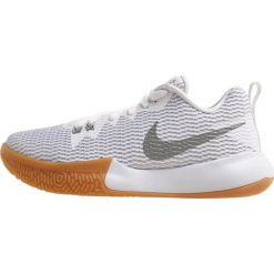 Buty sportowe damskie: Nike Performance ZOOM LIVE II Obuwie do koszykówki white/reflect silver/pure platinum