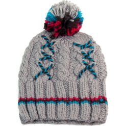 Czapka damska i zimowe wzory szara (cz2605). Szare czapki zimowe damskie marki Art of Polo, na zimę. Za 37,60 zł.