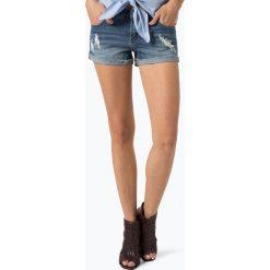 Review - Damskie krótkie spodenki jeansowe, niebieski. Niebieskie bermudy damskie Review, z jeansu. Za 99,95 zł.