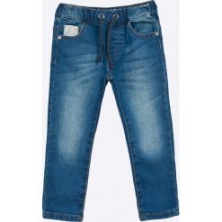 Blukids - Jeansy dziecięce 98-128 cm. Niebieskie spodnie chłopięce Blukids, z bawełny. W wyprzedaży za 69,90 zł.