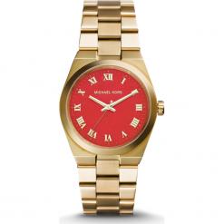 ZEGAREK MICHAEL KORS CHANNING MK5936. Pomarańczowe zegarki damskie Michael Kors, ze stali. Za 1160,00 zł.