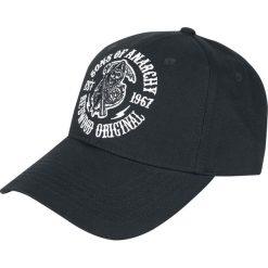 Sons Of Anarchy SOA Logo - Redwood Original Czapka baseballowa czarny. Czarne czapki z daszkiem damskie Sons Of Anarchy, z aplikacjami. Za 79,90 zł.