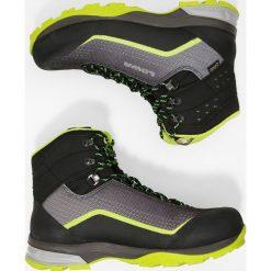 Lowa IROX GTX MID Buty trekkingowe schwarz/limone. Czarne buty trekkingowe męskie Lowa, z materiału, outdoorowe. W wyprzedaży za 730,15 zł.