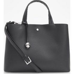 Torebka typu city - Czarny. Czarne torebki klasyczne damskie Reserved. Za 129,99 zł.